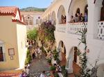 Binnenplaats Panormitis klooster - Eiland Symi - Foto van De Griekse Gids
