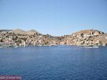 Panoramafoto westelijke kade van de haven - Eiland Symi - Foto van De Griekse Gids
