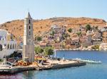 GriechenlandWeb Werkzaamheden aan klokkentoren Symi - Insel Symi - Foto GriechenlandWeb.de