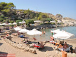 Het gezellige Strandt van Kalithea Rhodos - Foto GriechenlandWeb.de