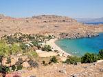 een van de baaien van Lindos (Rhodos) - Foto van De Griekse Gids