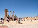 De acropolis van Lindos en de tempel van Athena Lindia - Foto van De Griekse Gids