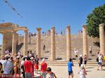 GriechenlandWeb.de De stoa uit de Hellenistische tijd - Lindos(Rhodos) - Foto GriechenlandWeb.de