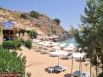 Mooi zandstrand Lindos - Foto van De Griekse Gids