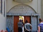 De ingang van het Osios David klooster bij Rovies | Evia Griekenland | De Griekse Gids - Foto van De Griekse Gids