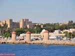 De drie molens en het paleis der Grootmeesters (Rhodos stad)