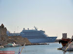 Cruiseschip in Rhodos haven - Foto van De Griekse Gids