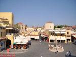 Oude stad Rhodos - Ippokratous plein - Foto van De Griekse Gids