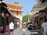 GriechenlandWeb.de Allerlei winkels aan de Sokratous straat in Rhodos Stadt - Foto GriechenlandWeb.de