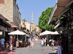 Suleiman moskee en lange bazaar van Rhodos stad - Foto van De Griekse Gids