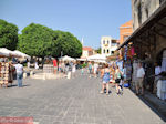 Het plein van de Joodse Martelaren - Rhodos stad - Foto van De Griekse Gids