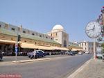 Het gebouw van de nieuwe markt - Rhodos stad - Foto van De Griekse Gids