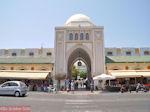 JustGreece.com Centrale ingang nieuwe markt - Rhodos stad - Foto van De Griekse Gids