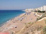 Strand aan het westen van Rhodos stad - Foto van De Griekse Gids