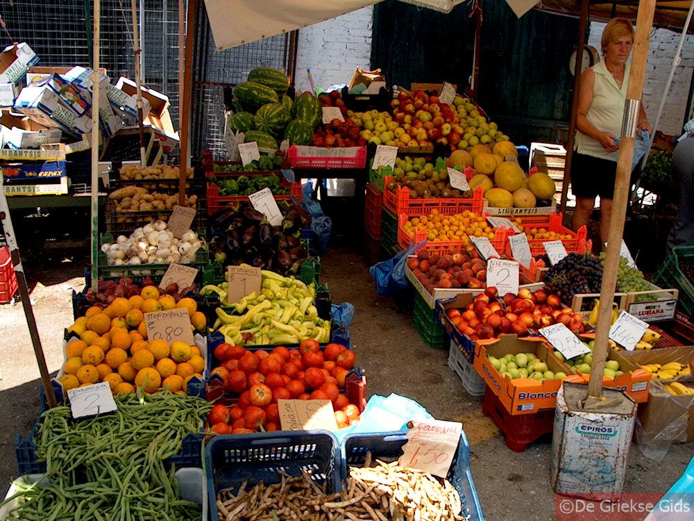 foto Fruit en groenten - Corfu stad
