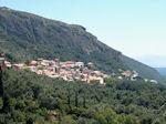 Het dorpje Lakones bij Paleokastritsa - Foto van De Griekse Gids