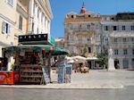 Peripteron in Corfu stad - Griekse kiosk Corfu - Foto van De Griekse Gids