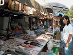 Vismarkt Corfu stad - Foto van De Griekse Gids