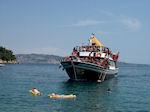 Bootje met toeristen ik Kalami (Corfu) - Foto van De Griekse Gids