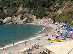 Het strand van Ermones