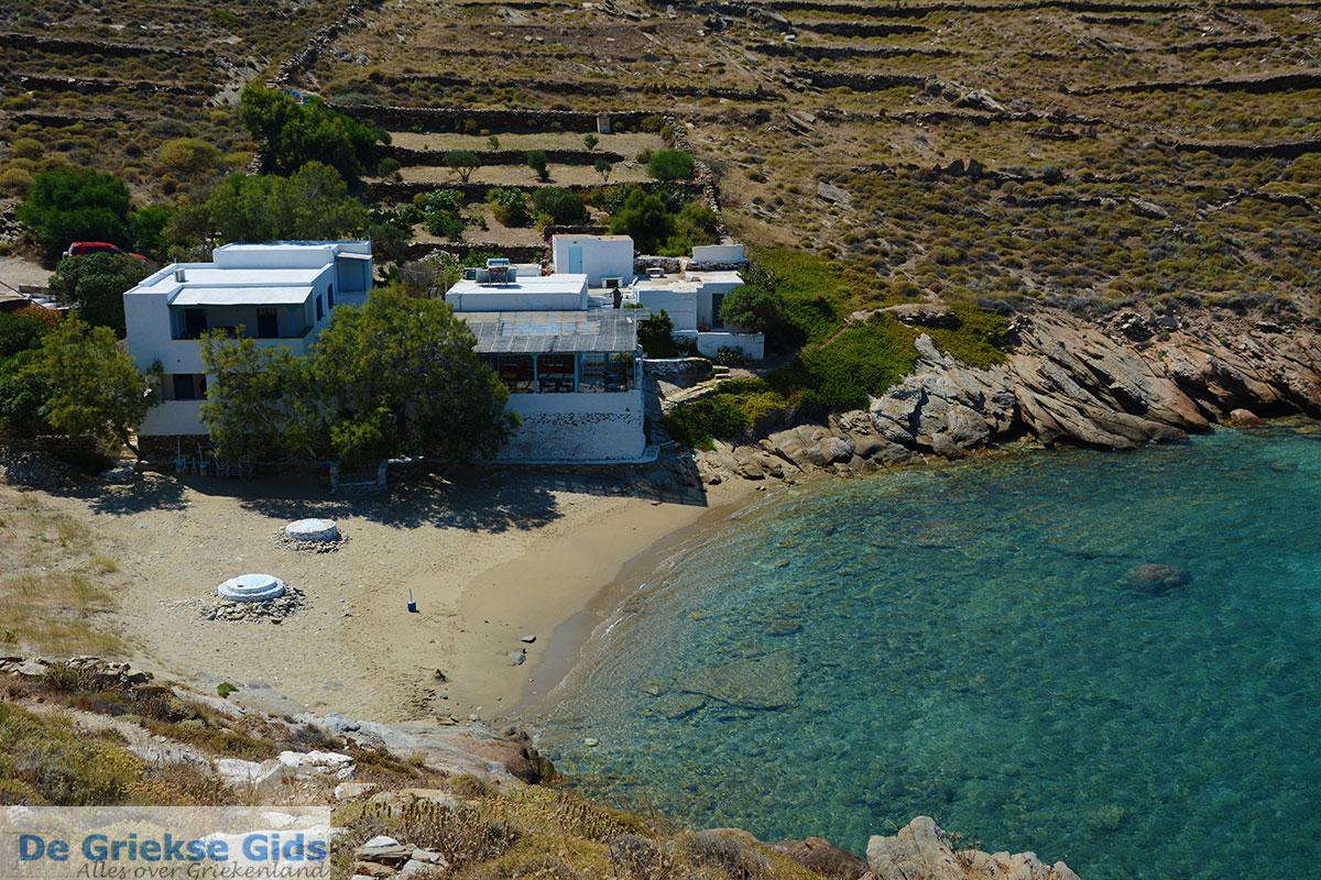 foto Valmas strand bij Gialos Ios - Eiland Ios - Cycladen foto 211