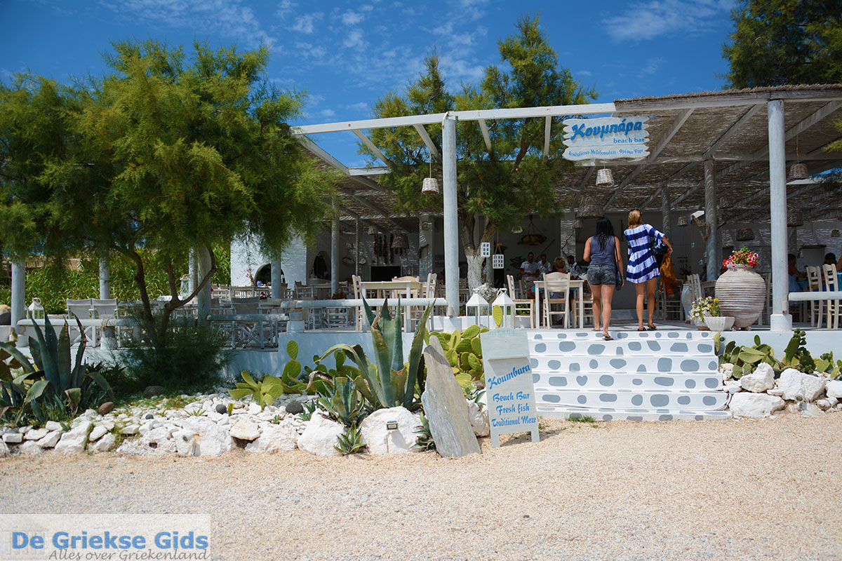 foto Koumbara Beach bar Chora Ios - Eiland Ios - Cycladen foto 415