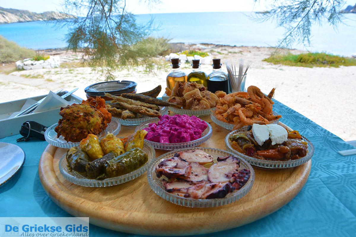 foto Koumbara Beach bar Chora Ios - Eiland Ios - Cycladen foto 423