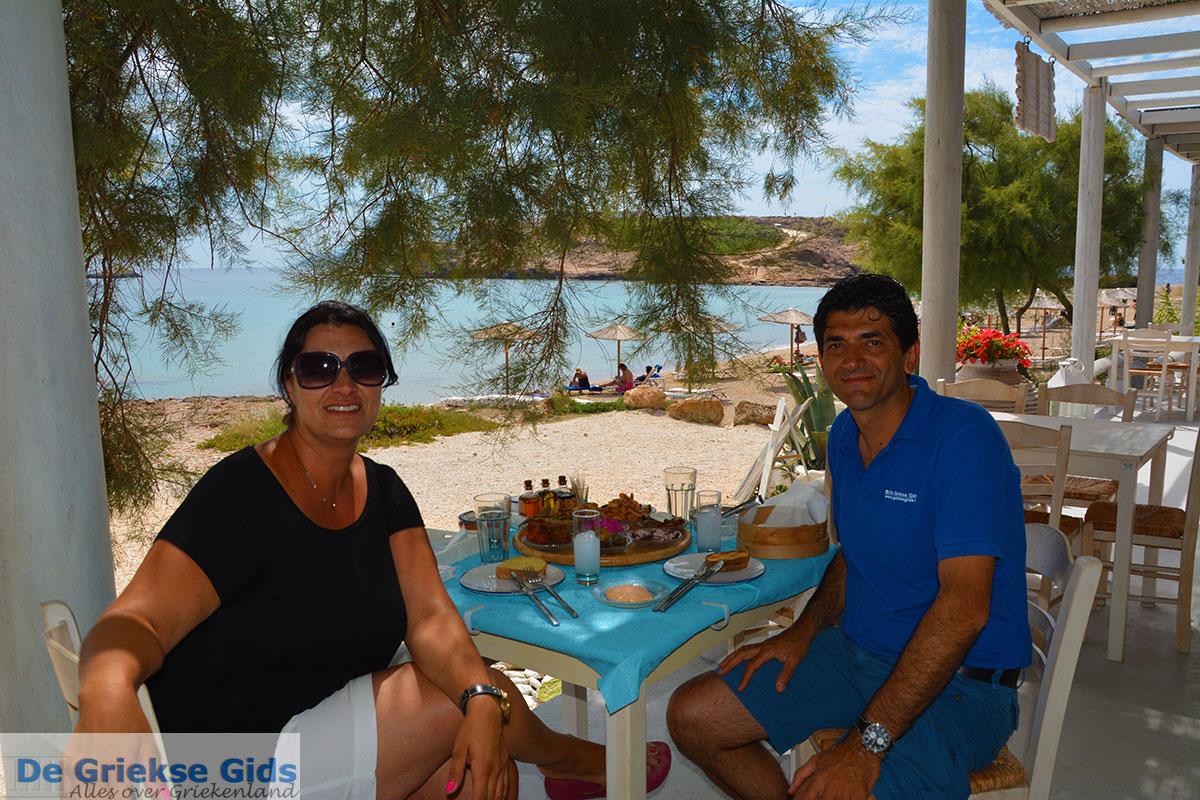 foto Koumbara Beach bar Chora Ios - Eiland Ios - Cycladen foto 427