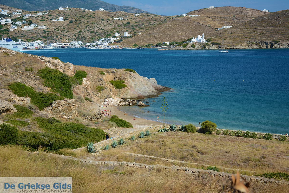 foto Tzamaria beach Chora Ios - Eiland Ios - Cycladen Griekenland foto 441