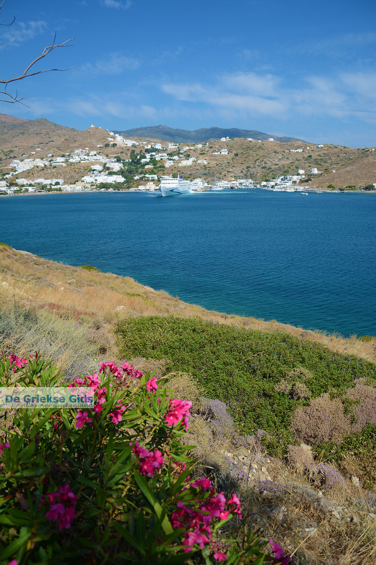 foto Tzamaria beach Chora Ios - Eiland Ios - Cycladen Griekenland foto 446