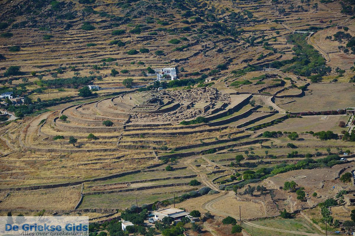 foto Skarkos Chora Ios - Eiland Ios - Cycladen Griekenland foto 480