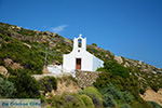 Kerk op route Manganari Ios - Eiland Ios - Cycladen foto 332 - Foto van De Griekse Gids