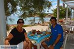 Koumbara Beach bar Chora Ios - Eiland Ios - Cycladen foto 427 - Foto van De Griekse Gids