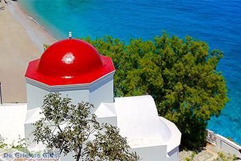 Kyra Panagia -  Rode koepel Karpathos - Foto van Patrick vd Tol