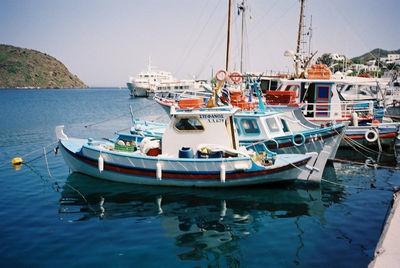 Skala (Patmos): bootjes in het haventje - Foto von Patrick Buijs