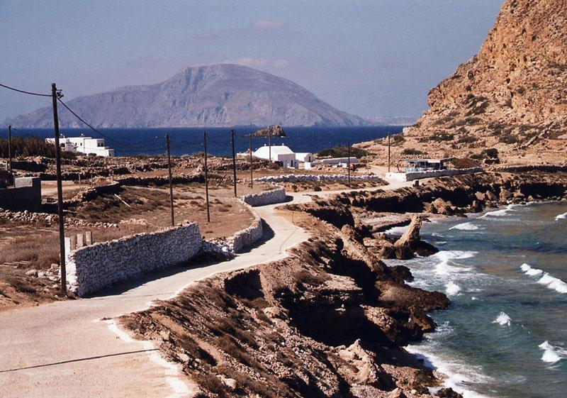 Vanuit Arkassa kijkend naar het eiland Kassos; september 23  (Karpathos)