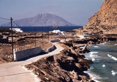 Vanuit Arkassa kijkend naar het eiland Kassos; september 23 - Foto von A.Fluitman