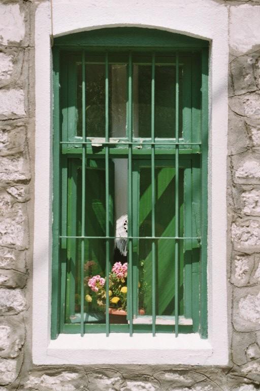 foto Groen raam
