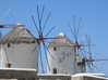 molens op Mykonos - Foto van Lodewijk Bolt