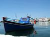 GriechenlandWeb.de Bootje auf Samos - Foto Samos Strand mei 2003