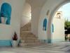 Binnenplaats kerk van Pythagoirion - Foto van Rob Kuster, Rossum