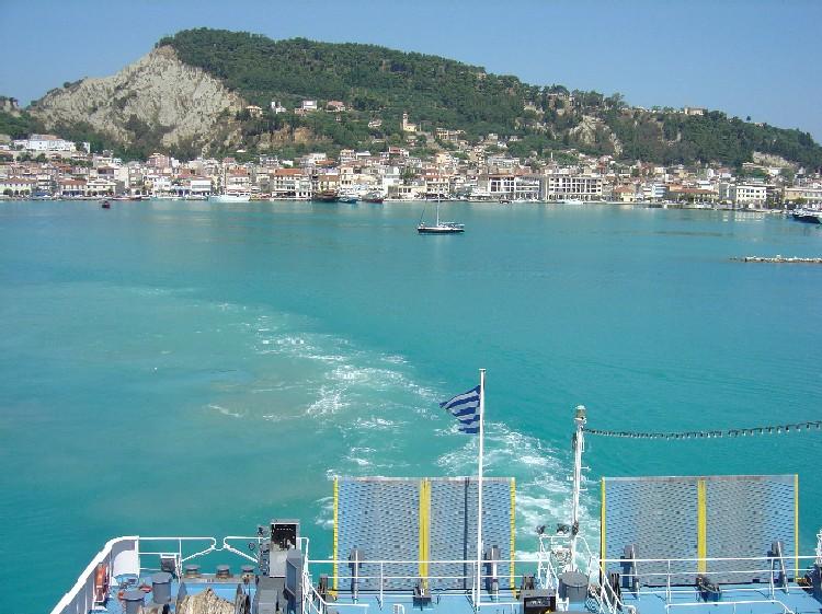 foto Overtocht Zakynthos naar Kyllini