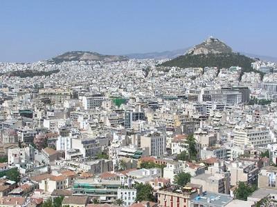 Athene city - Foto van niet bekend