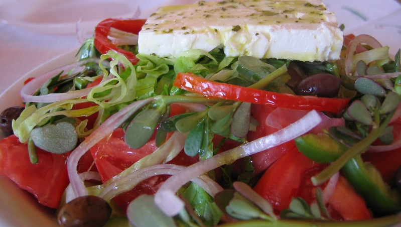 foto Griekse salade