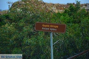 Aptera Kreta - Departement Chania - Foto 2 - Foto van De Griekse Gids