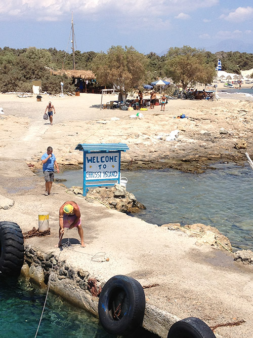 foto Chrissi eiland - Departement Lassithi Kreta- Foto 1