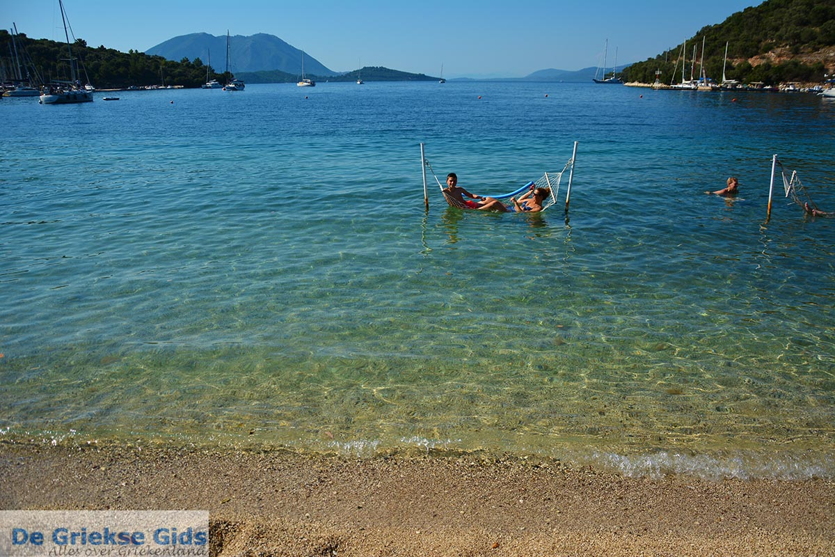 foto Strand Spartochori - Meganisi eiland bij Lefkas - Foto 95