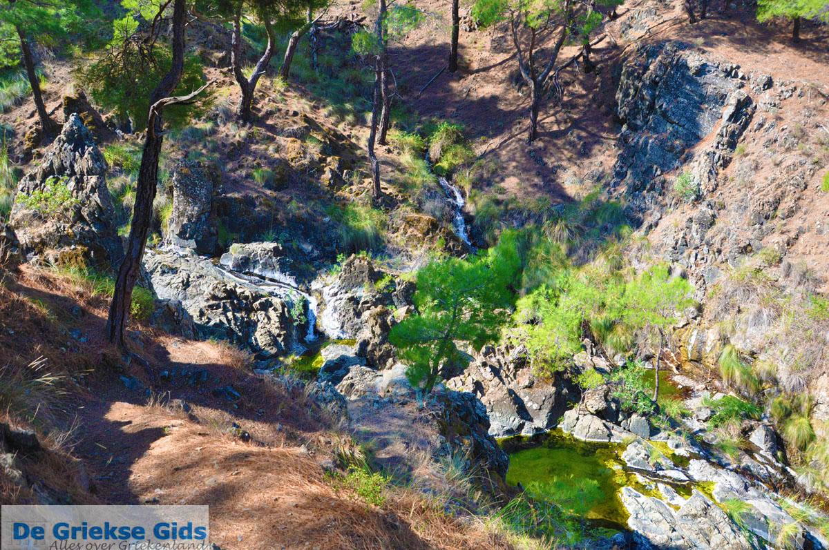 foto Bij watervallen Pesas   Lesbos Griekenland 33