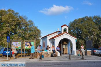 Kerkje bij vliegveld Mytilini | Lesbos Griekenland | Foto 2 - Foto van https://www.grieksegids.nl/fotos/lesbos/normaal/lesbos-griekenland-858.jpg