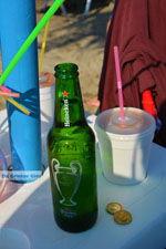 Heineken bier - Strand Megalo Fanaraki bij Moudros Limnos (Lemnos) - Foto van De Griekse Gids